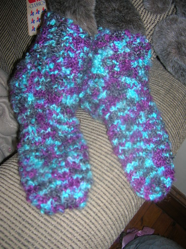Boucle Slipper Socks