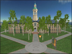 Princeton Unversity opens campus in Second Life