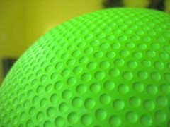 untitled (booglets) Tags: ball circle round golfball greenball