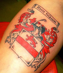 Tattoo Family Crest