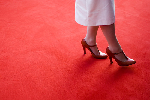 HALLAM FOE, RED CARPET