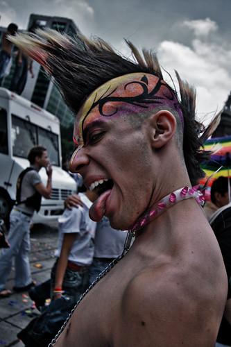 Marcha gay México 2007