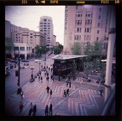 3.1 (mraaronmorris) Tags: seattle holga downtown westlakecenter
