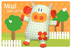 New!! Muzi (Fafi) Tags: toys cow softies vaca maricota