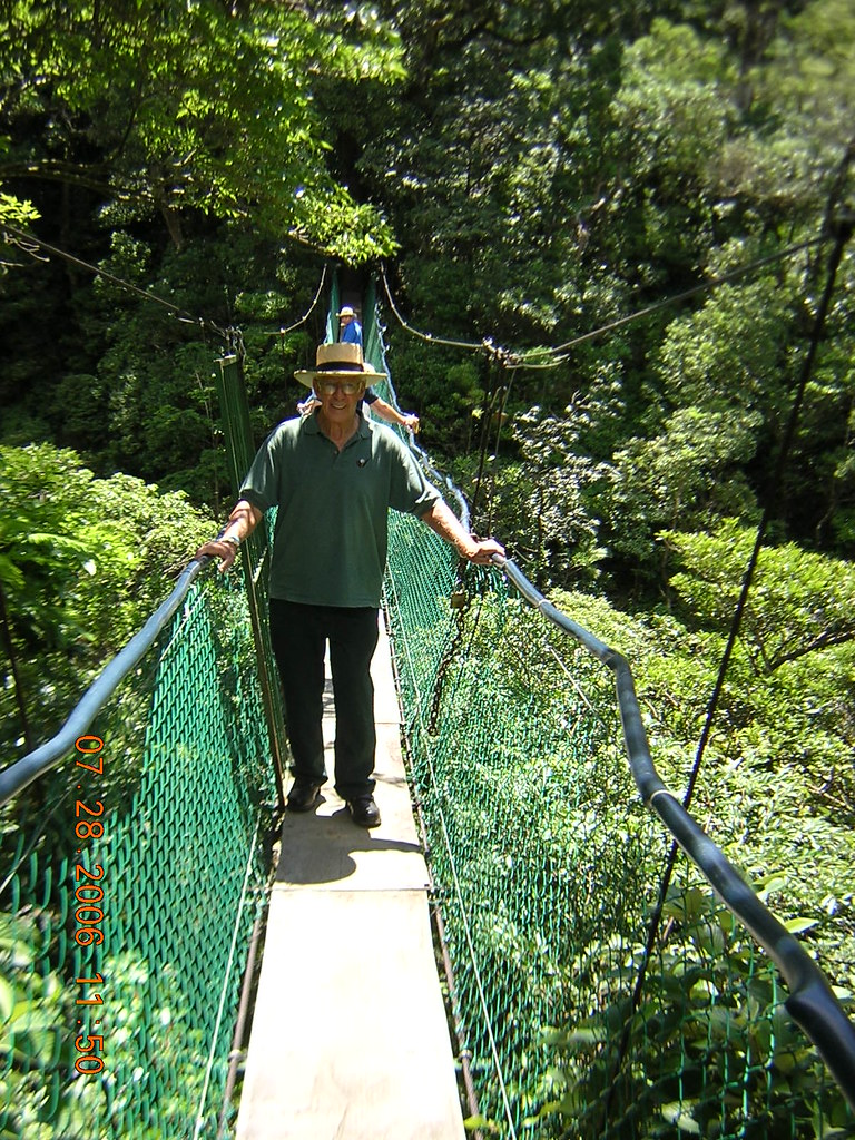Dad and the bridge