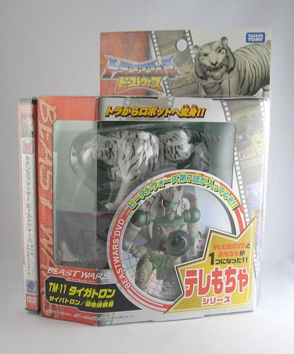 Beast Wars Tigatron (10th Anniversary TakaraTomy Reissue)