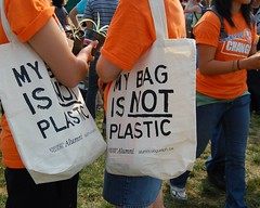 My bag is not plastic - by K.Jane