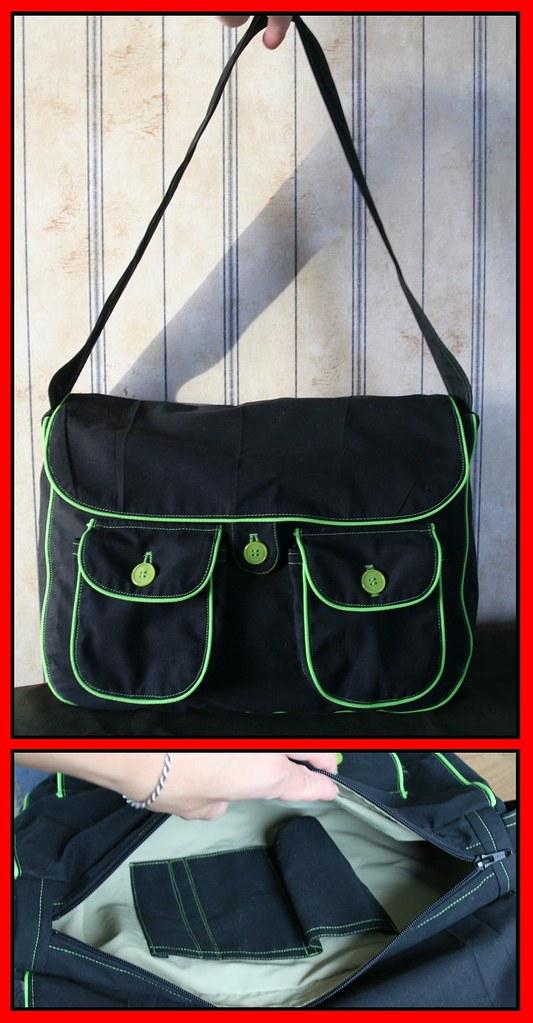 Must kott roheliste kantidega