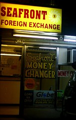 seafront foreign exchange (_gem_) Tags: street city urban money sign night typography evening philippines structures driveby places nighttime signage manila malate stores moneychanger currencyexchange metromanila foreignexchange moneychanging