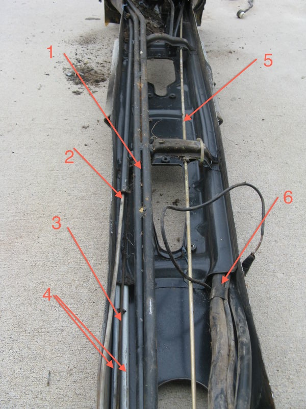 1977 911 tunnel fuel line options - pelican parts forums wiring harness for fuel lines