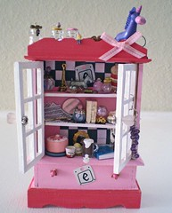 Revised Eloise Enchanted Cabinet ~ 1:12 Scale (Enchanticals~ Death in Family) Tags: wood pink white black glass girl miniature child bottles cabinet furniture handmade story fantasy littlegirl hutch foundobjects collectible etsy stories homedecor possessions eloise dollhouse dioramas crystalball findings childrensbooks 6yearold littlethings childrensstories kaythompson oneinchscale etsylove roomboxes 112thscale flickraward dollhouseminiature onetwelfthscale etsyteams minimakers famouscharacter dontmakeascene faeteam miniaturedoors damteam scaledollhouseminiature teammids enchanticals miniaturedollhousescale minitreasures handcraftedminiatures enchanticalsetsy miniaturesindollhousescale miniaturecollector 112scaledollhousescale dollhousesandminiaturesforthem fantasydollhousesandminiatures miniaturesgeneral alteredboxesminiatures fantsycrafts estsyhandmadeandvintage 112thscaleonetwelfthscale miniaturedollhousefurniture