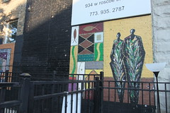 African mural