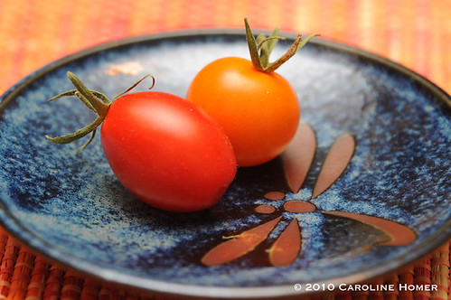 Juliet and Sun Gold tomatoes