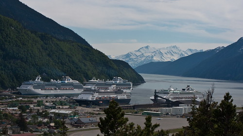 Four Cruises in Skagway