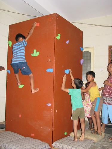 Mobile Climbing Wall 8