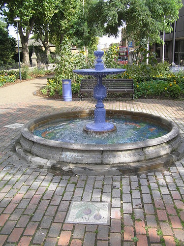 St. Mary's Garden Fountain