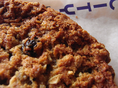 06-08 oatmeal raisin cookie