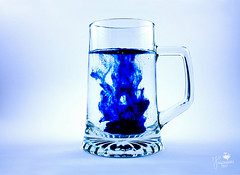 Into the blue (Senzio Peci) Tags: blue italy stilllife color water glass italia blu sicily acqua sicilia vetro patern intothedeepofmysoul