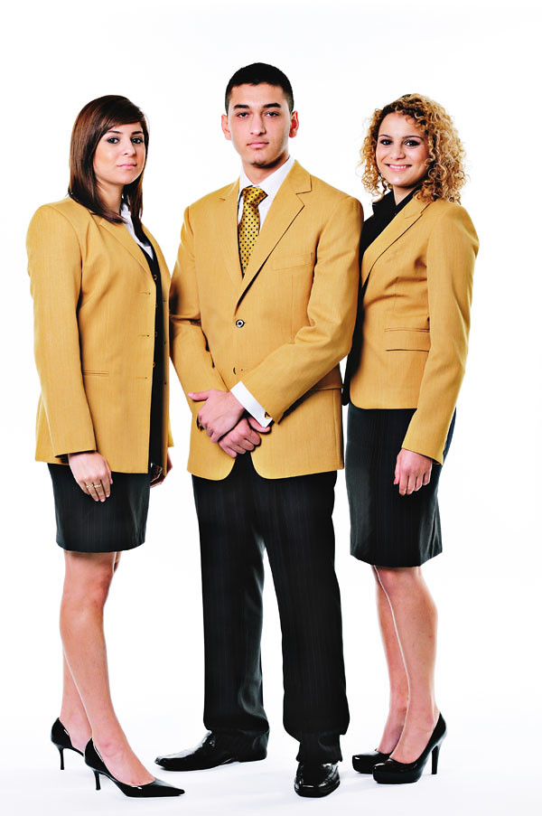 Corporate Fashion, Suits and Jackets - Studio White Background