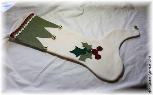 My Stocking for our front door