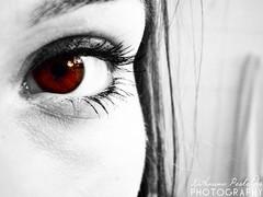Pure Rage. (Katha.*) Tags: red brown rot eye eyes focus rage hate braun augen hatred closeshot pure wut auge nahaufnahme fokus hass colourkey rotbraun purerage purewut