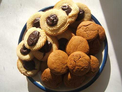 ginger chocolate cookie mashup