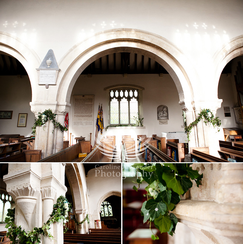 Gloucestershire Wedding Photographer Chedworth Church 2
