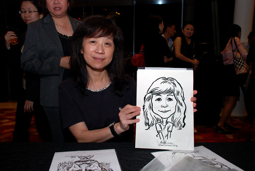 caricature live sketching for 2010 Asia Pacific Tax Symposium and Transfer Pricing Forum (Ernst & Young) - 17