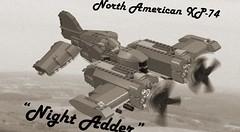 XP-74 Test Flight (3!) Tags: lego skyfi vicviper dieselpulp