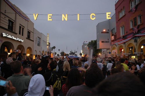 Venice Sign at Windward