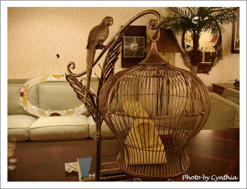 大峰家具-銅製鳥籠