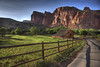 Sunset at the farm at Capitol Reef (CarlBSr) Tags: usa canon 350d utah nationalpark searchthebest explore capitolreefnp soe hdr naturesfinest photomatix specland