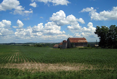 Farm (ash2276) Tags: blue trees red cloud white green field grass clouds barn farm ashley ad fluffy crop june30 ald simcoecounty canadianphotographer scoopt flickrtoday torontophotographer ash2276 wowiekozowie ash2275 ashleyduffus westgwillimbury canadianphotogpraher ashleysphotography ald ashleysphotographycom ashleysphotoscom ashleylduffus wwwashleysphotoscom