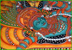 Ananthasayanam (LensAlive) Tags: india catchycolors mural vishnu kerala trivandrum theindiatree anathan anathasayanam