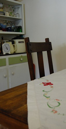 tablecloth in situ