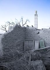 tower & ruins / hope dies last (-Filippos-) Tags: tower ruins cs2 watertower cyprus shutters subtle  akaki