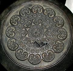 An old cast iron stove (kalmanzita) Tags: black circle iron hungary stove magyarorszg szekszrd castironstove ironstove hipbotunsquare