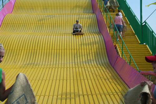 Adam on the Big Slide