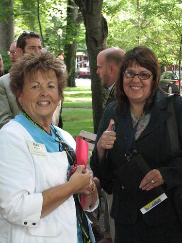 Event organizer Kay Dannen