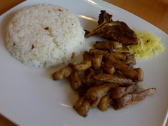 Porkchop with Garlic Rice