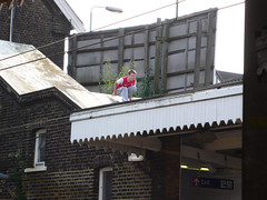 London Surburbia. Sunday Afternoon. Palmers Green Station. 0748 (mansionmedia simon knight) Tags: london station suburbia railway palmersgreen simonknight mansionmedia