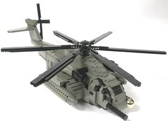 Blackout, helicopter mode (brickfrenzy) Tags: robot lego transformer helicopter blackout mecha mh53 pavelow foitsop