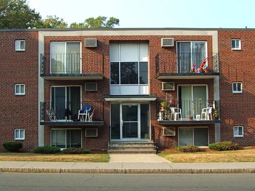 brick apartment building. Three Floor Brick Apartment Building  A Photo On Flickriver