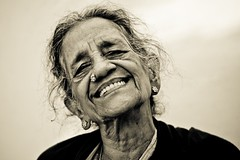 laugh (knowsnotmuch) Tags: family grandma 50mm sb600 laugh toned 35 wrinkles pp explored