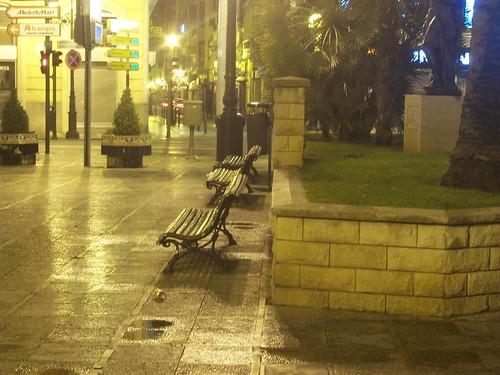 Castellón de noche - Pl. La Paz