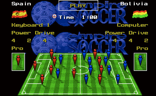 Captura de pantalla de Empire Soccer 94