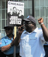 Chicago JwJ at the Unemployment Office