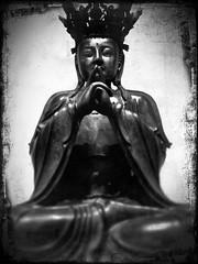 Buddha (darrelbest) Tags: toronto ontario buddha queenspark rom royalontariomuseum iphone bloorstreet