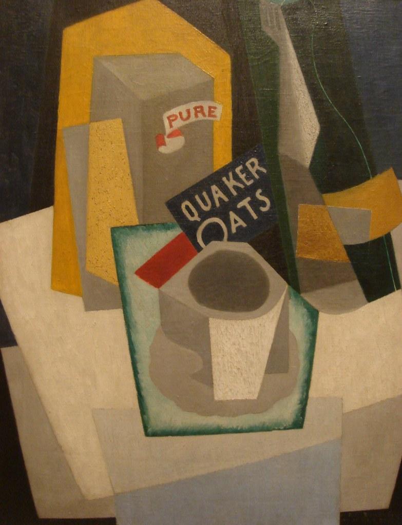 Quaker Oats - Cubist Still Life, 1917