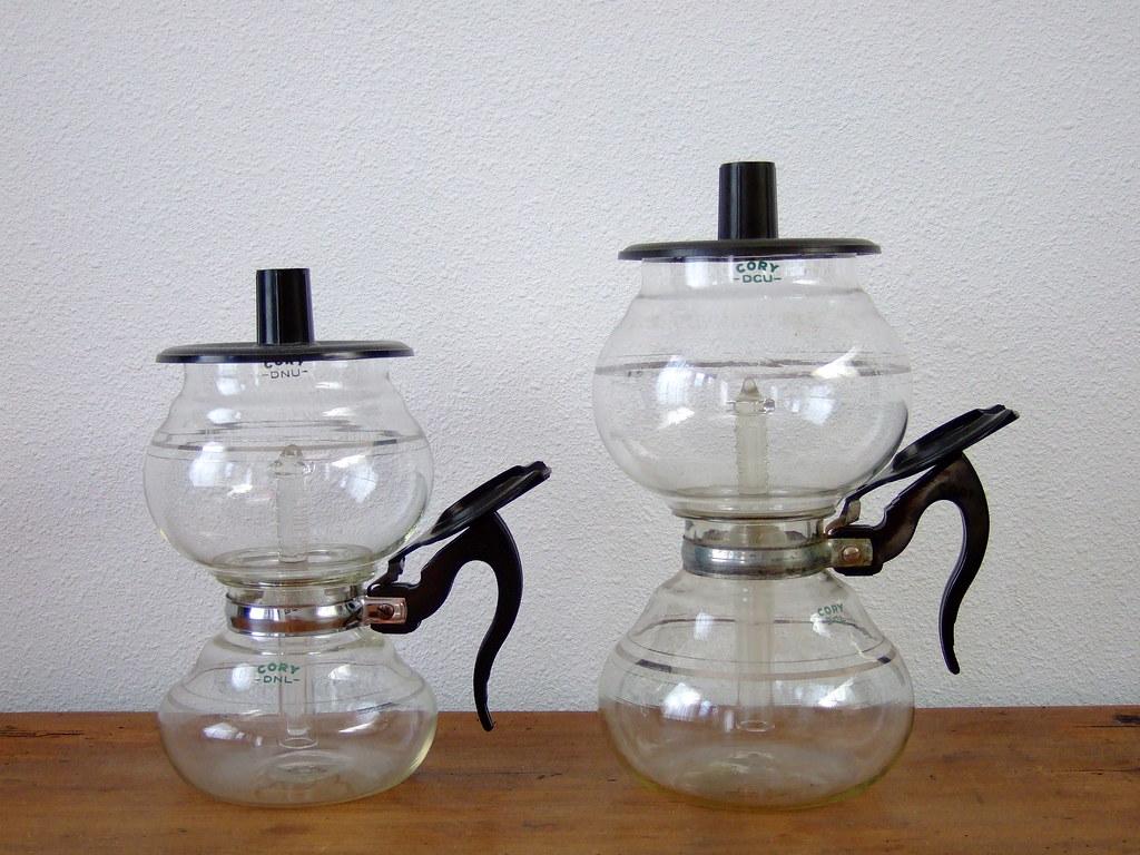 Cory rubberless vacuum brewers